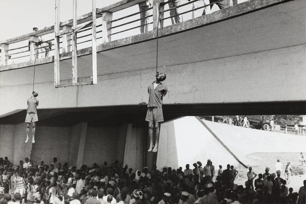 Pendaison des opposants à Sékou Touré